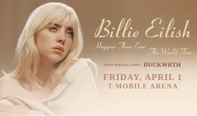 Billie Eilish tickets at T-Mobile Arena in Las Vegas