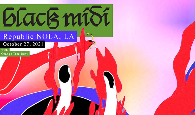 black midi tickets at Republic NOLA in New Orleans