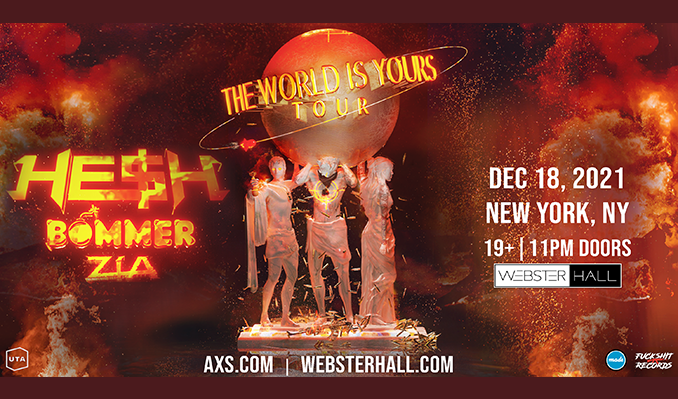 Bommer & HE$H tickets at Webster Hall in New York