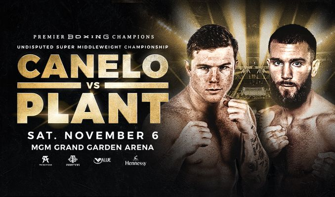 Canelo vs Plant tickets at MGM Grand Garden Arena in Las Vegas