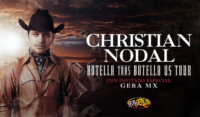 Christian Nodal tickets at Microsoft Theater in Los Angeles