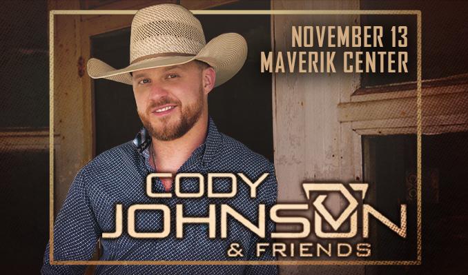 Cody Johnson tickets at Maverik Center in Salt Lake City