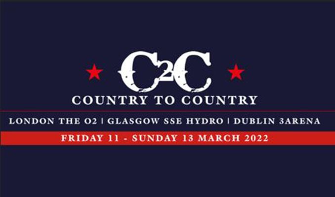 Country to Country 2022 Three Day Ticket tickets at The O2 in London