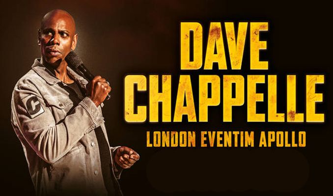 Dave Chappelle - RESCHEDULED tickets at Eventim Apollo in London