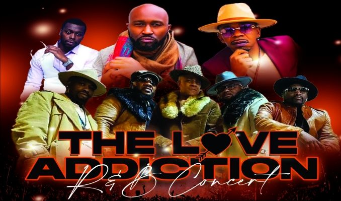 The Love Addiction R&B Concert tickets at Rams Head Live! in Baltimore