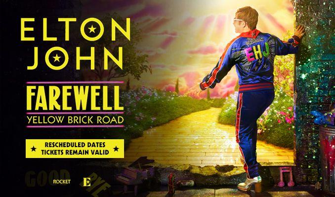 Elton John - RESCHEDULED  tickets at OVO Hydro in Glasgow