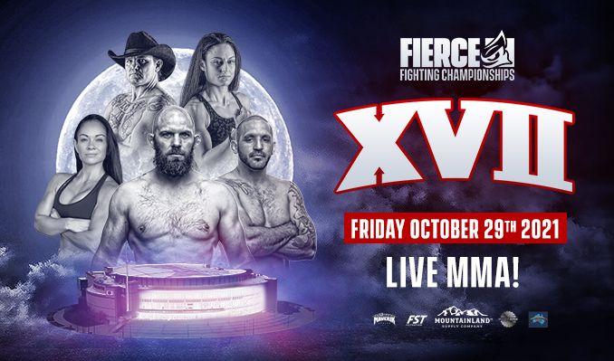 Fierce Fighting Championship XVII tickets at Maverik Center in Salt Lake City