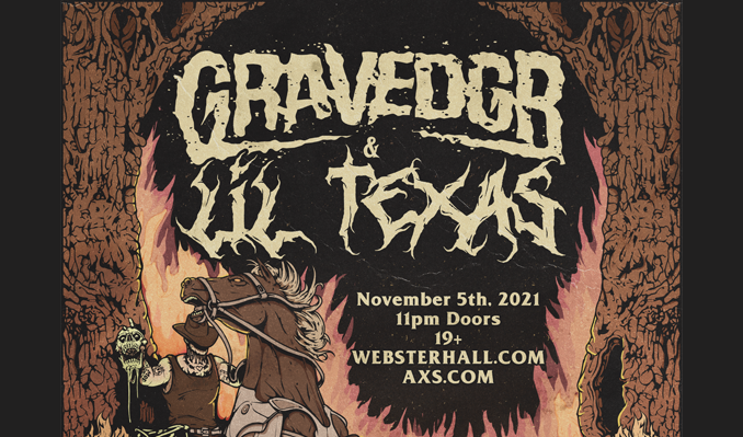 GRAVEDGR & Lil Texas tickets at Webster Hall in New York