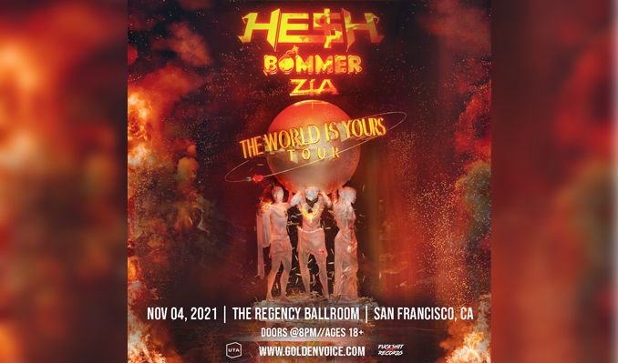HE$H tickets at The DNA Lounge in San Francisco