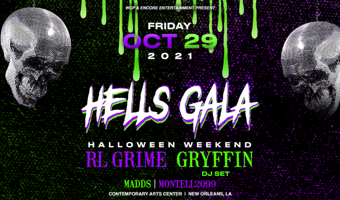 Hell's Gala 2021 tickets at Contemporary Arts Center in New Orleans
