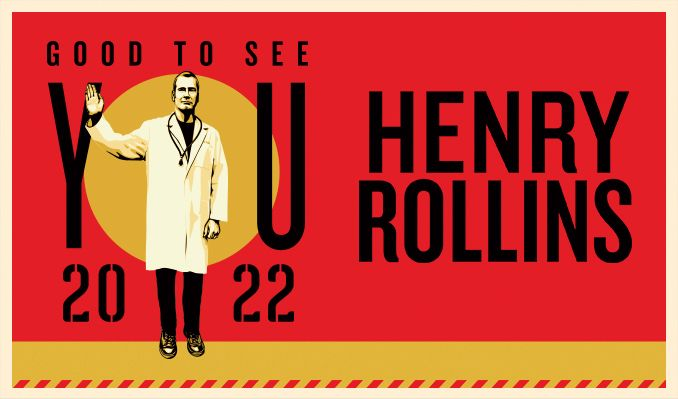 Henry Rollins tickets at Keswick Theatre in Glenside