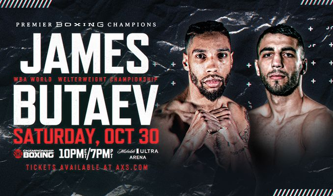 James vs Butaev tickets at Michelob ULTRA Arena at Mandalay Bay Resort & Casino in Las Vegas