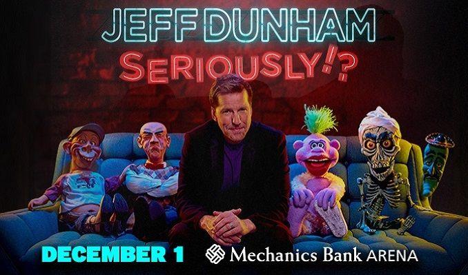 Jeff Dunham tickets at Mechanics Bank Arena in Bakersfield