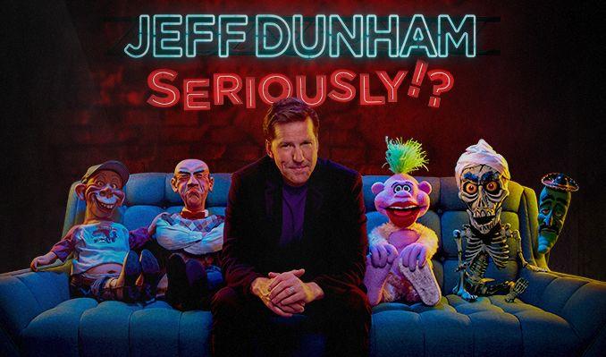 Jeff Dunham tickets at T-Mobile Center in Kansas City