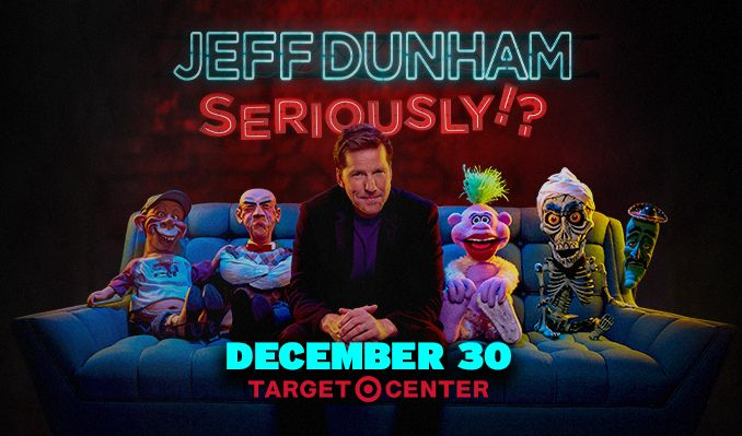 Jeff Dunham tickets at Target Center in Minneapolis