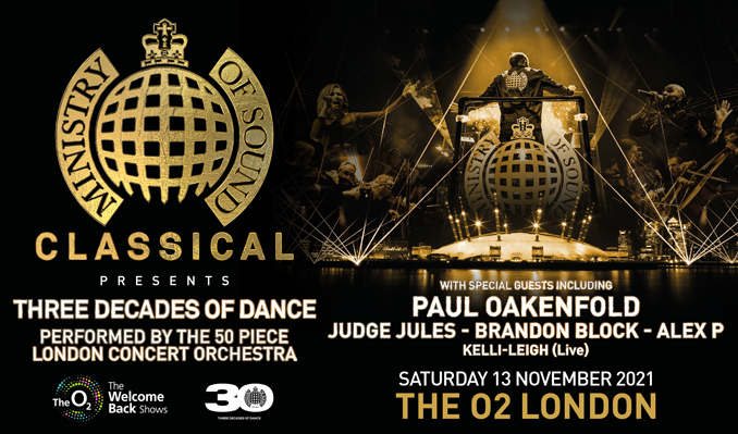 Ministry Of Sound Classical tickets at The O2 in London