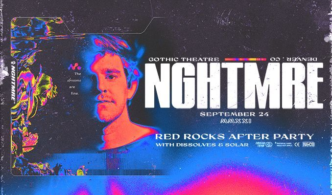 NGHTMRE (Big G After Party) tickets at Gothic Theatre in Englewood