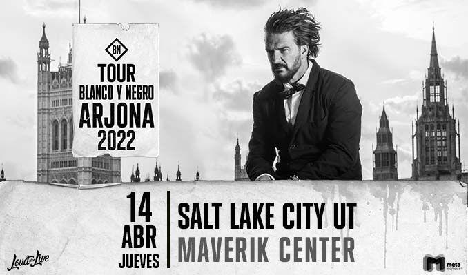 Ricardo Arjona tickets at Maverik Center in Salt Lake City