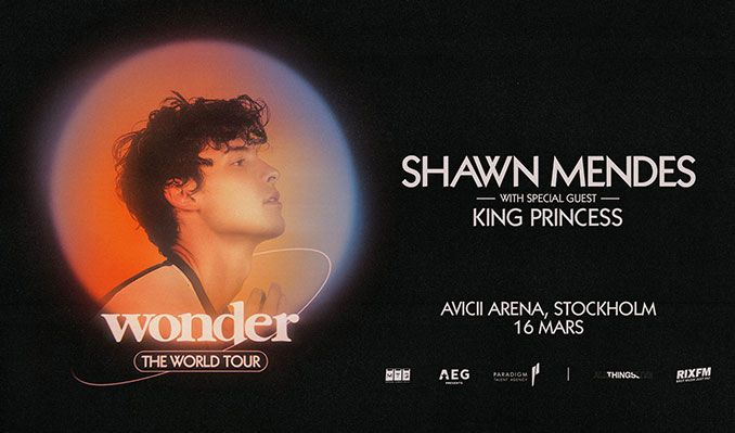 Shawn Mendes tickets at Avicii Arena in Stockholm