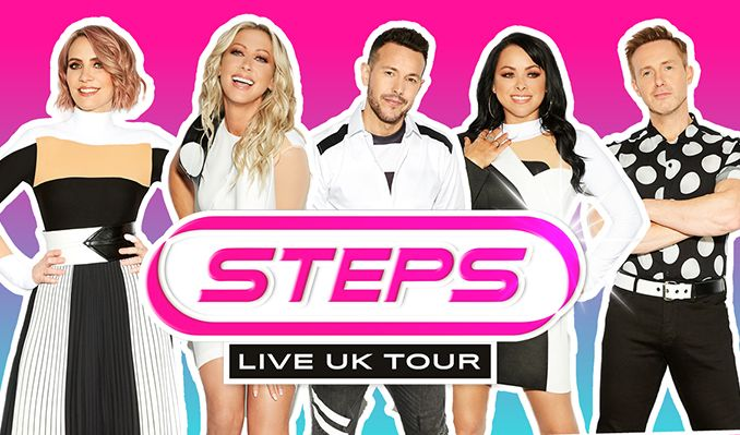 Steps: What The Future Holds Tour tickets at Utilita Arena in Newcastle upon Tyne