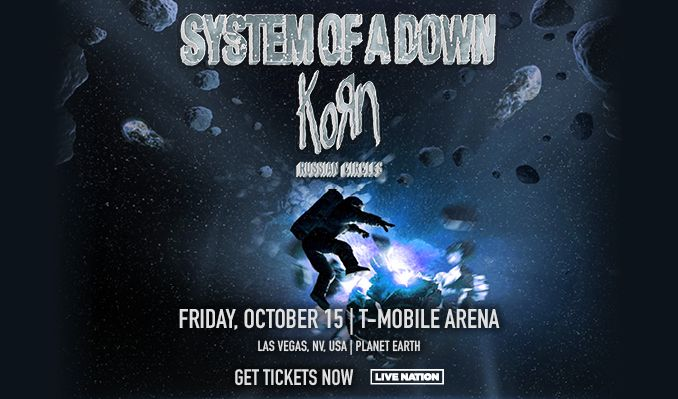 System of a Down tickets at T-Mobile Arena in Las Vegas