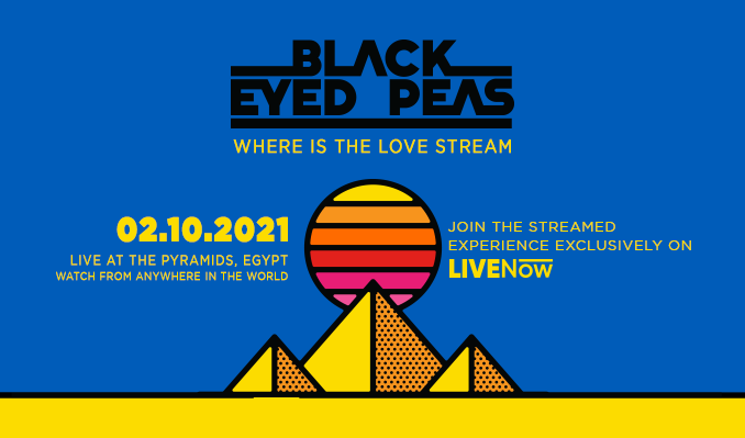 The Black Eyed Peas: Where Is The love Stream tickets at Livestream Event in London