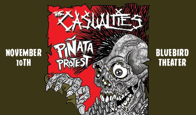 The Casualties tickets at Bluebird Theater in Denver