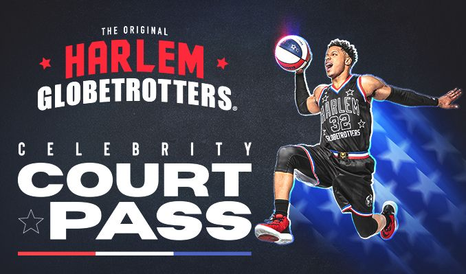02/20 12pm - The Harlem Globetrotters - Celebrity Court Pass tickets at Pechanga Arena San Diego in San Diego