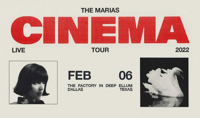 The Marías tickets at The Factory in Deep Ellum in Dallas