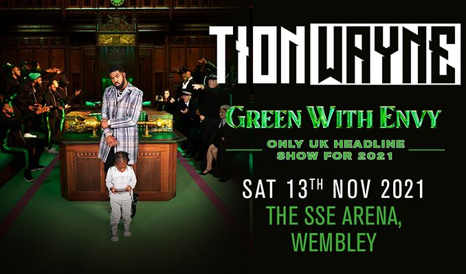 Tion Wayne tickets at The SSE Arena, Wembley in London
