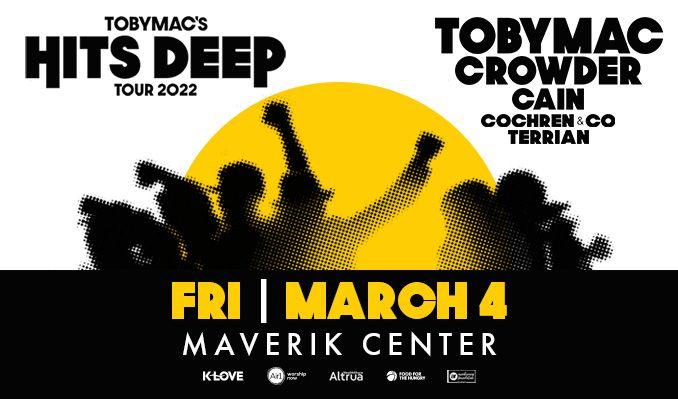 TOBYMAC – Hits Deep Tour tickets at Maverik Center in Salt Lake City