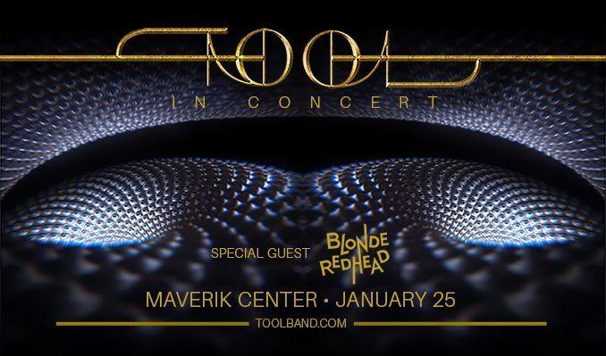 Tool tickets at Maverik Center in Salt Lake City