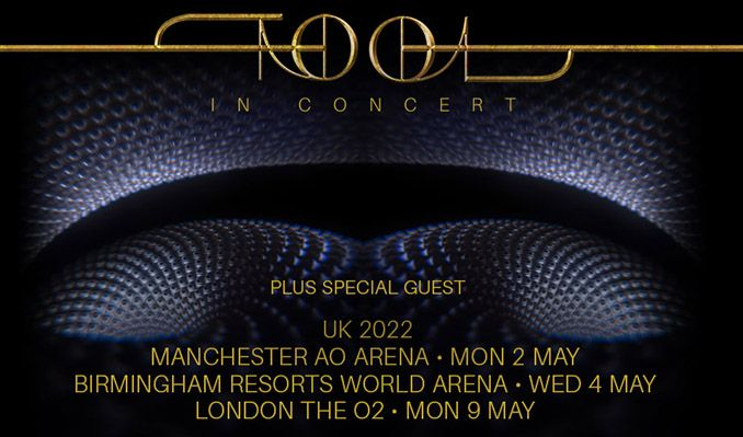 Tool tickets at The O2 in London