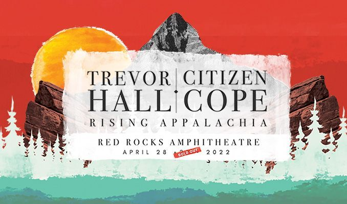 Trevor Hall & Citizen Cope tickets at Red Rocks Amphitheatre in Morrison