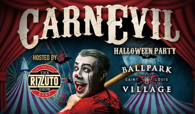 CarnEvil Halloween Party tickets at Ballpark Village in St. Louis
