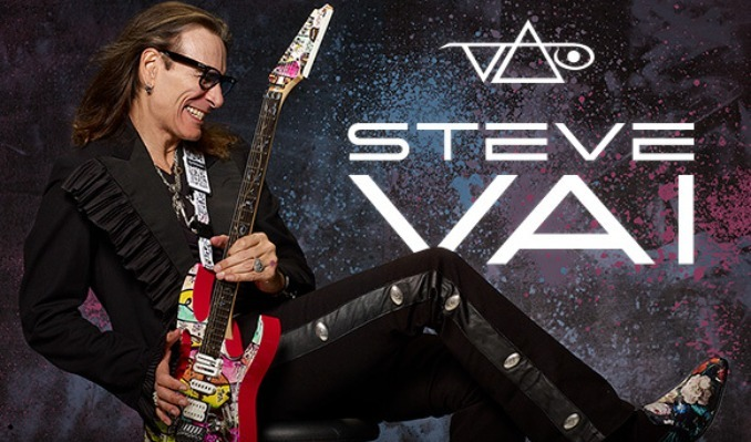 Steve Vai tickets at The Theatre at Ace Hotel in Los Angeles