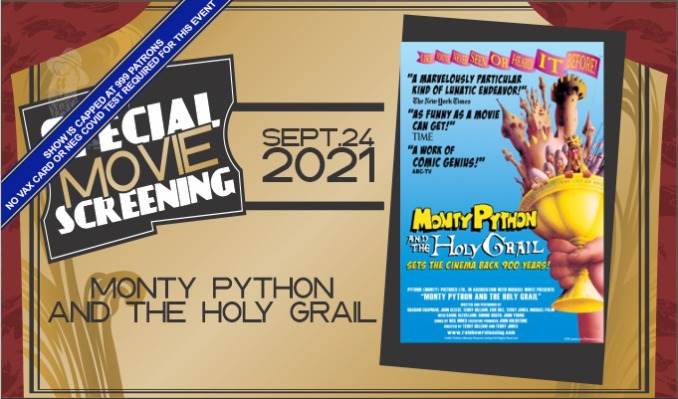Special Screening: Monty Python and the Holy Grail tickets at Historic Bakersfield Fox Theater in Bakersfield