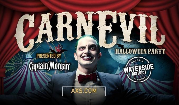 CarnEVIL Halloween Party tickets at Waterside District in Norfolk