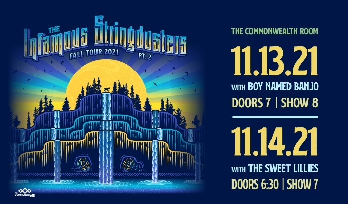 Infamous Stringdusters - 11/13/2021 tickets at The Commonwealth Room in South Salt Lake