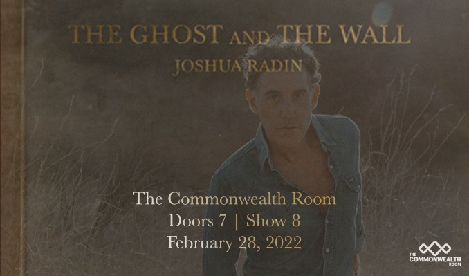 Joshua Radin - 2/28/2022 tickets at The Commonwealth Room in South Salt Lake