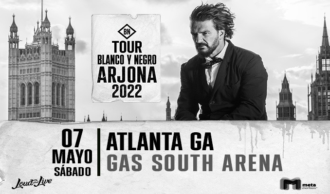 Ricardo Arjona tickets at Gas South Arena in Duluth