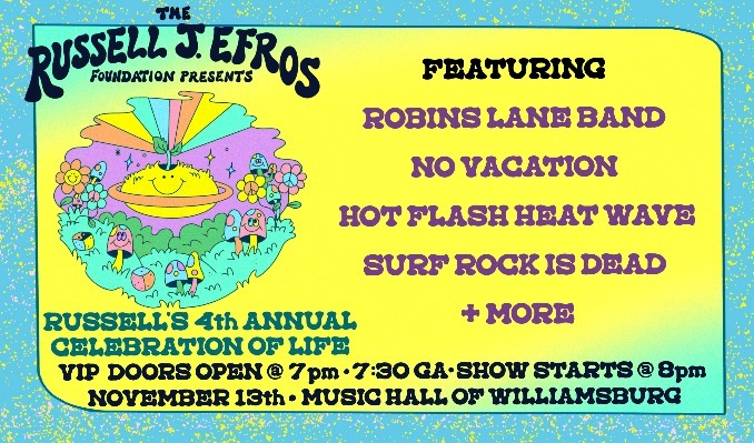 Annual Russell Sprouts Celebration of Life tickets at Music Hall of Williamsburg in Brooklyn