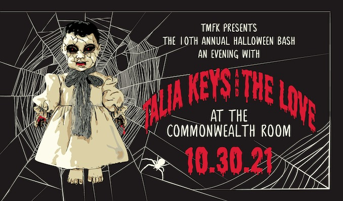 Talia Keys & The Love tickets at The Commonwealth Room in South Salt Lake