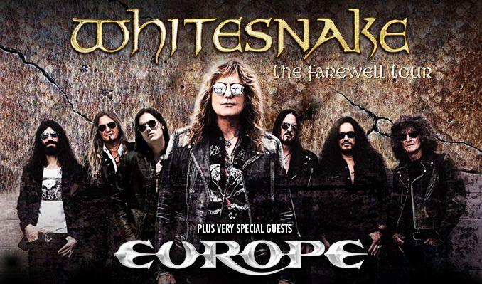 Whitesnake tickets at Hovet in Stockholm