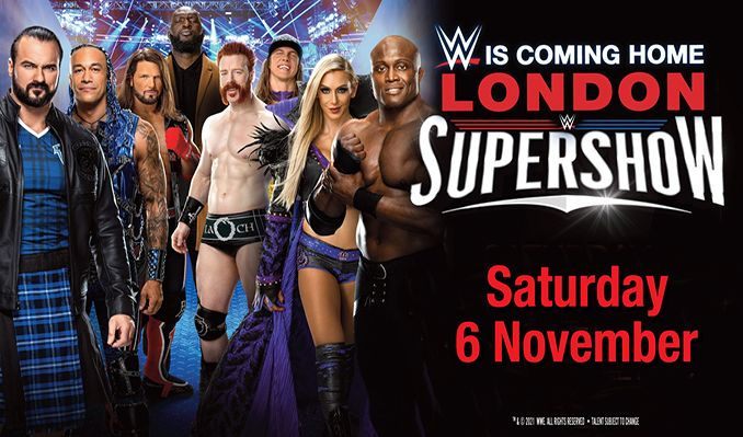WWE tickets at The SSE Arena, Wembley in London