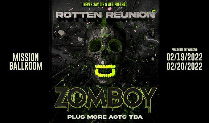 Zomboy tickets at Mission Ballroom in Denver