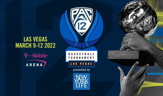 2022 Pac-12 Mens Basketball Tournament tickets at T-Mobile Arena in Las Vegas