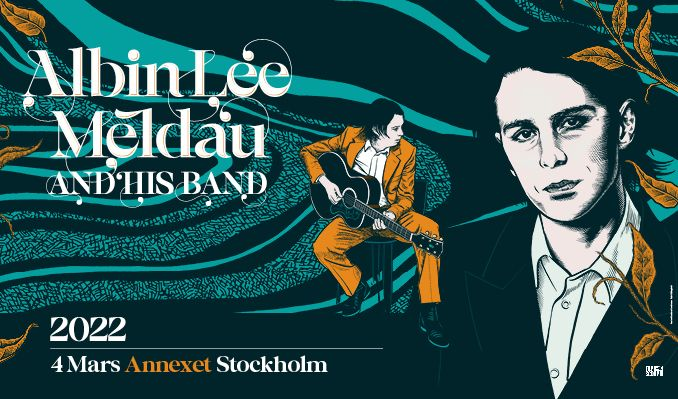 Albin Lee Meldau & his band tickets at Annexet in Stockholm