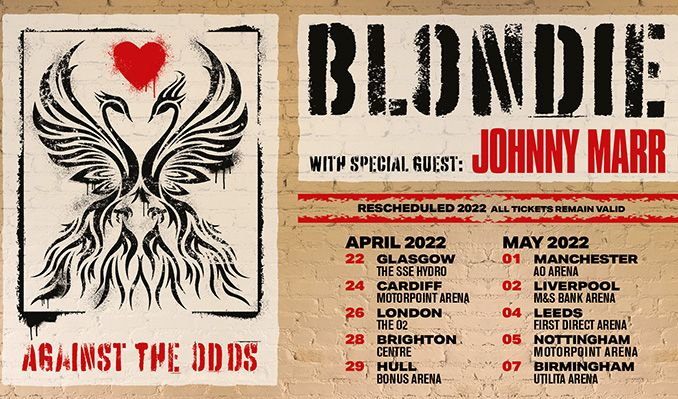 Blondie - RESCHEDULED tickets at AO Arena in Manchester