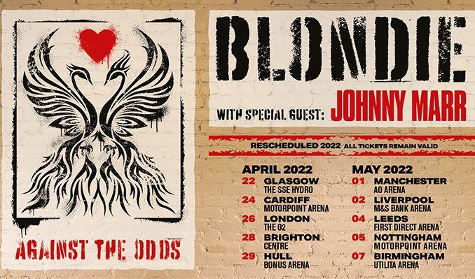 Blondie - RESCHEDULED tickets at Utilita Arena Birmingham in Birmingham